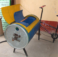 bicycle pedal machine